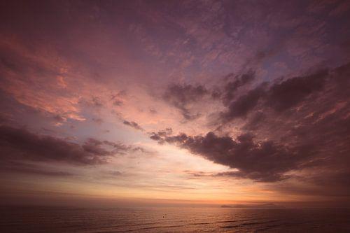 Zonsondergang Lima van