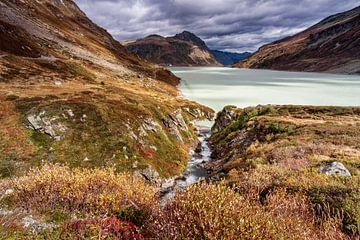 Silvretta meer van Rob Boon