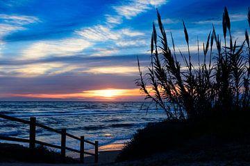 Sonnenuntergang in Spanien von René Rietbroek