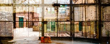 Fenster der Arbeit von Caroline Boogaard