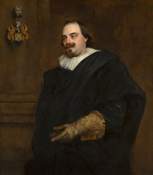 Anthony van Dyck, Portret van Peeter Stevens van Meesterlijcke Meesters