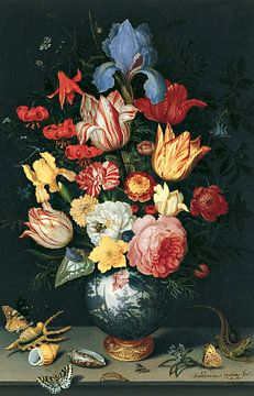 Blumen, Muscheln und Insekten, Balthasar van der Ast von Meesterlijcke Meesters