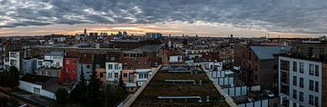 Ungewöhnliches Panorama von Brüssel von Werner Lerooy