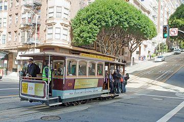 Kabelbaan in San Francisco (3) van t.ART