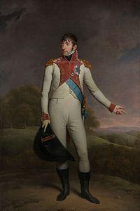 Portret van Lodewijk Napoleon, koning van Holland, Charles Howard Hodges