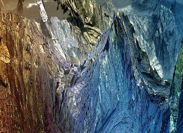 De blauwe berg