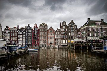 Damrak Amsterdam sur Nicky Kapel