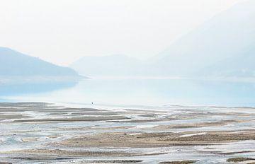 Vissen op Medicine Lake Canada van Nathan Marcusse