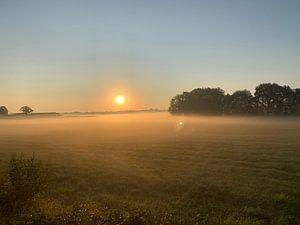 Lever du soleil sur Eric Reijbroek