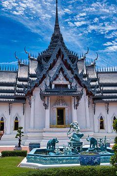 Hoofdpaleis van de koning in Samut Prakan van Bernd Hartner