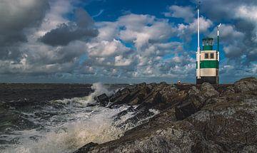 Leuchtturm Ijmuiden von MdBfotos