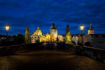 Prag und die Karlsbrücke von Antwan Janssen