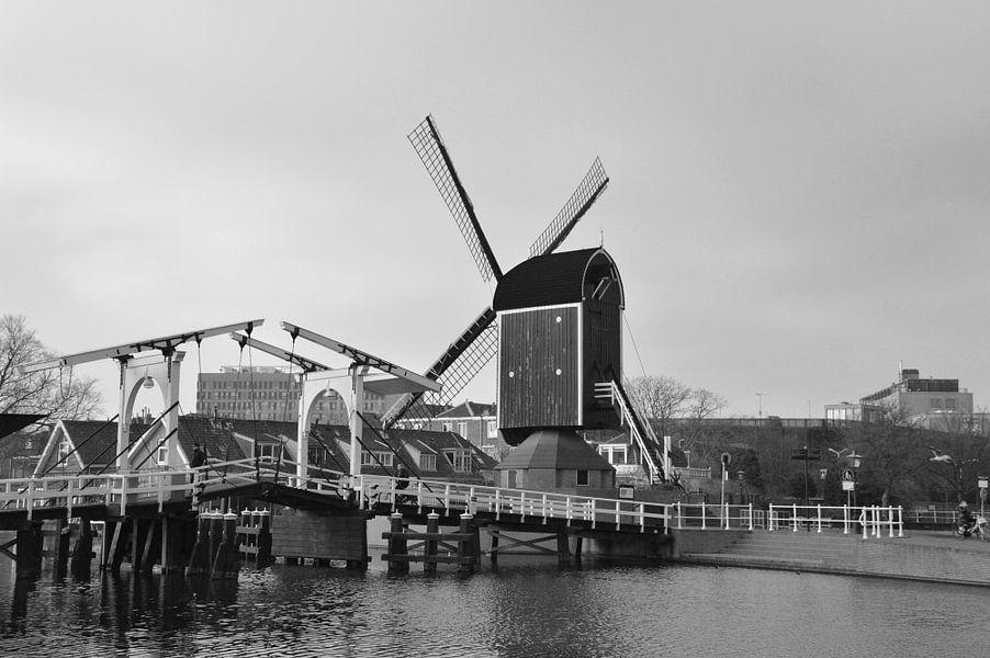 Molen De Put in Leiden van Fraukje Vonk