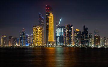 Skyline Abu Dhabi von Jeroen Kleiberg