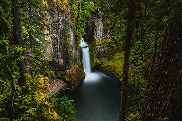 Tokee-Wasserfall von Maikel Claassen Fotografie