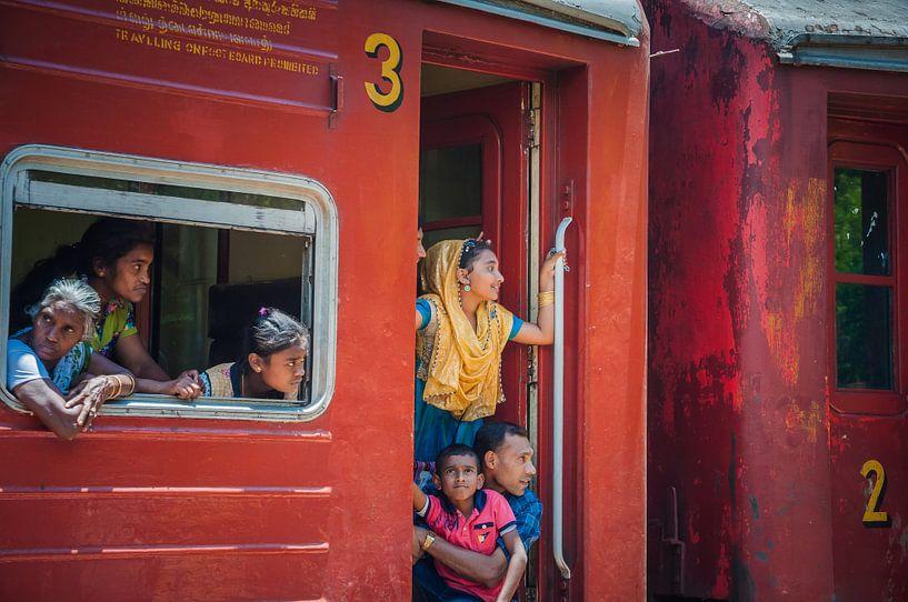 Sri Lanka Zugfahrt von Reisverslaafd