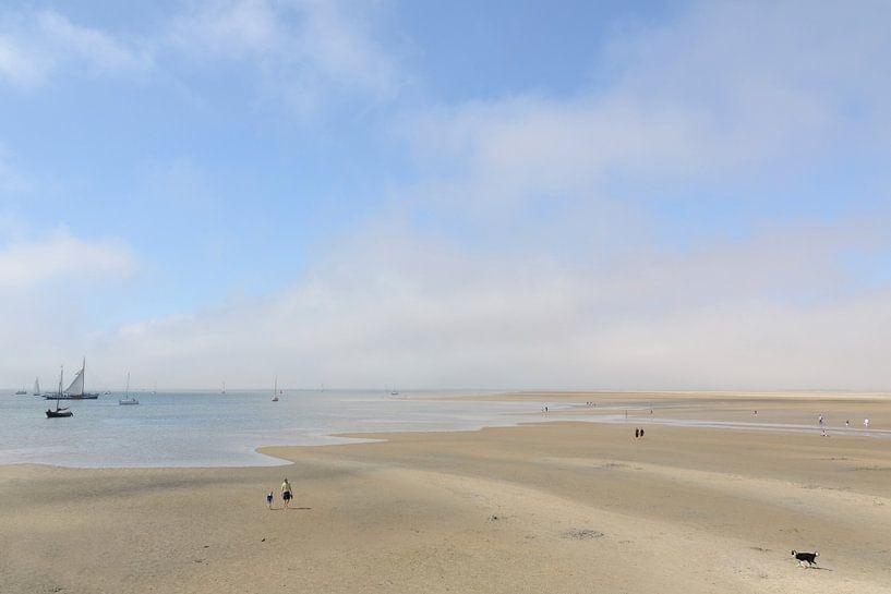 Ebbe an der Küste von Terschelling von Ellinor Creation