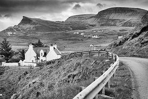 Typisch landschap in Schotland van