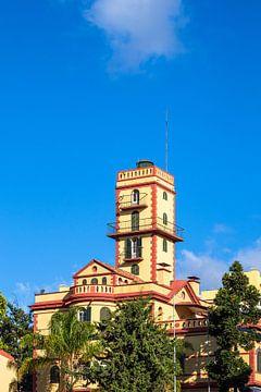 Blick auf ein historisches Gebäude in Funchal auf der Insel Madeira von Rico Ködder