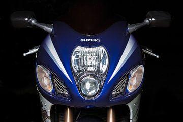 Porträt einer Suzuki Hayabusa GSXR 130 von Stefan van der Wijst