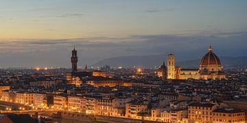 Florenz am Abend von Robin Oelschlegel