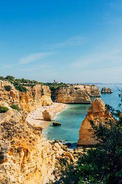 Strand Portugal van boven || Reisfotografie Algarve