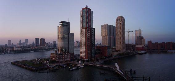 Rotterdam van uit de lucht van Dennis van Wijk