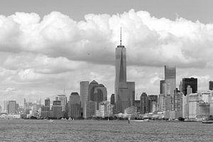 New York in zwart-wit van
