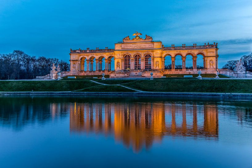 Paleis van Schönbrunn in Wenen van Maarten Hoek