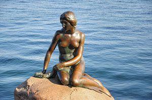 De Kleine Zeemeermin, Kopenhagen. van Edward Boer