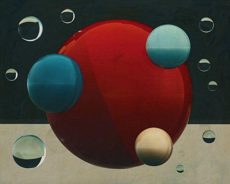 Constructivisme schilderij nummer 14 van Jan Keteleer