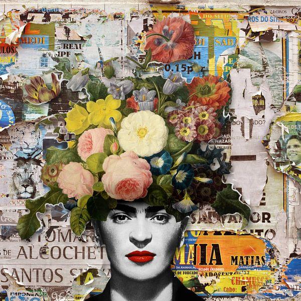 Street Art Frida von Marja van den Hurk