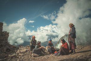 Himalaya-vrouwen