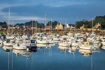 Port in Brittany van Rico Ködder