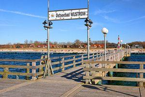 Die Seebrücke im Ostseebad Wustrow