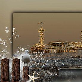 Scheveningen met de Pier van Carla van Zomeren