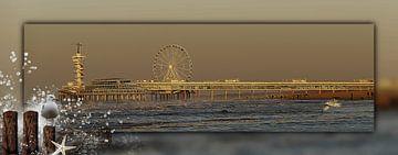 """Scheveningen avec """"de Pier sur Carla van Zomeren"""