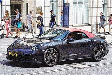 Porsche 911 Cabriolet von Pieter van Dijken