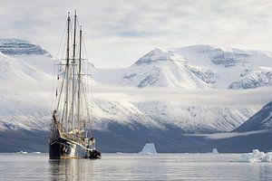 Arctic explorers van Rudy De Maeyer