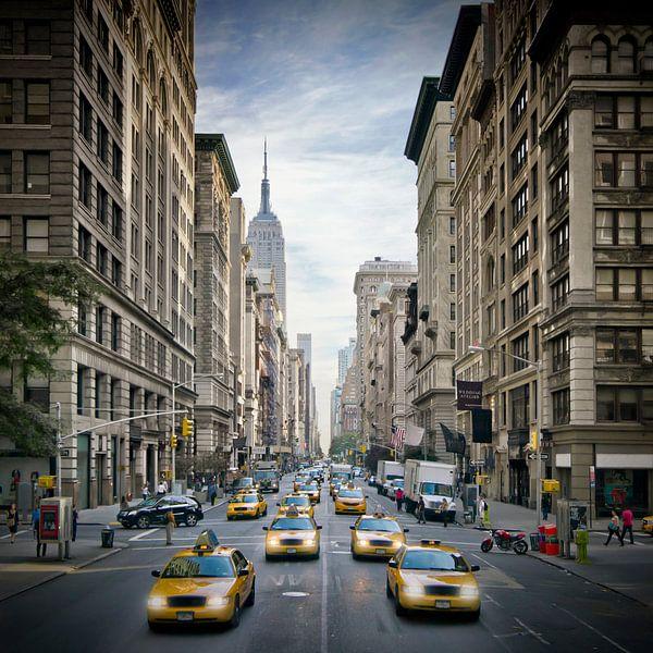 NEW YORK CITY 5th Avenue Verkeer