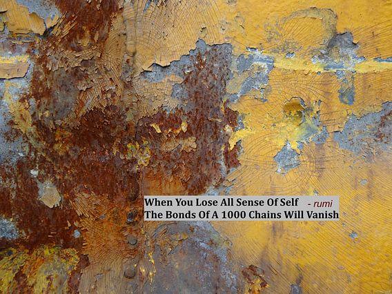Rumi: When You Lose All Sense Of Self....