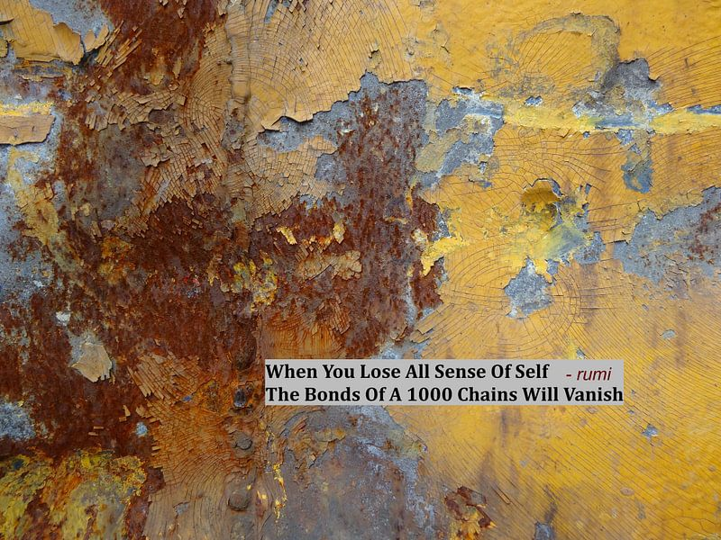 Rumi: When You Lose All Sense Of Self.... van MoArt (Maurice Heuts)