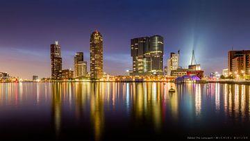 Rotterdam Skyline von Michiel Buijse