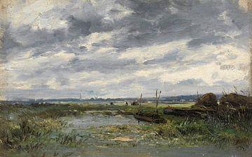 Carlos de Haes-Yuze Stausee-Landschaft, Antike Landschaft
