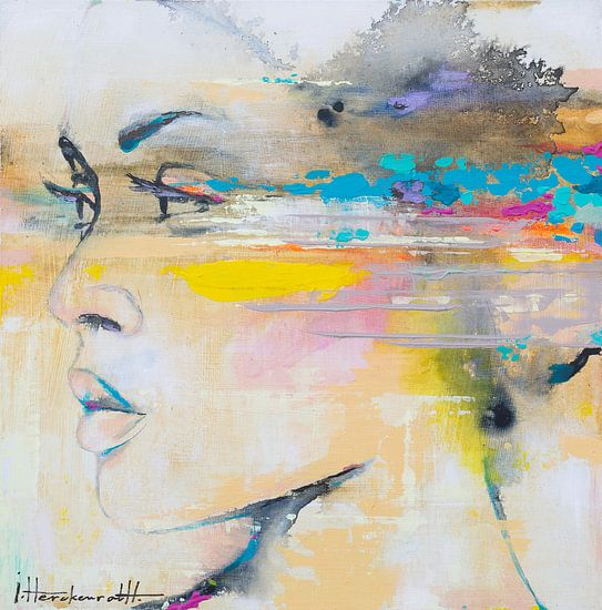Art Face  02 van Paint- Ing