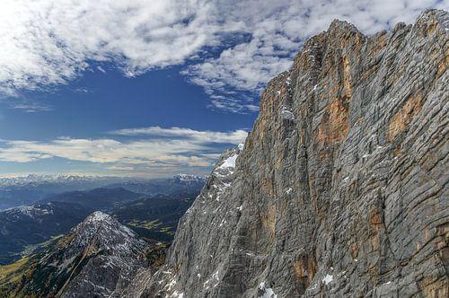 vergezicht vanaf Dachstein.