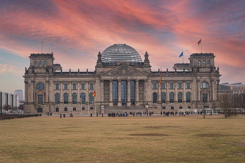 Reichstag in Berlijn van VanEis Fotografie