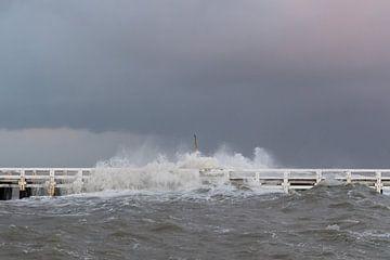 Storm op zee von Cathy Php