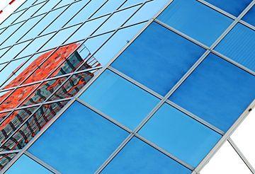 Red apple reflectie sur Sigrid Klop