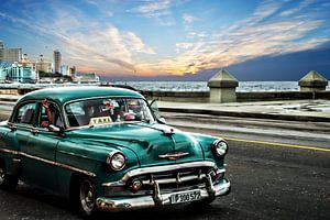Havana Taxi in Cuba